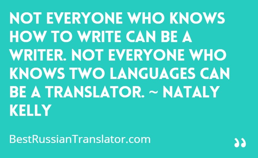 Nataly Kelly On Being A Translator - Best Russian Translator